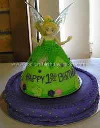 tinkerbell cakes coolest tinkerbell cakes