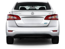 nissan sedan 2014 image 2014 nissan sentra 4 door sedan i4 cvt sv rear exterior