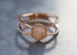 moonstone engagement rings best 25 moonstone engagement rings ideas on hexagon