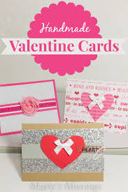 valintine cards easy handmade cards marty s musings