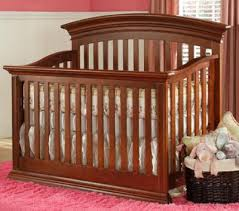 Top Convertible Cribs Babys Legendary Curve Top Convertible Crib Cinnamon A2z