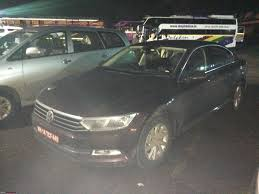 volkswagen passat 2017 2017 vw passat 2 0 tdi spotted in india edit launched at 30