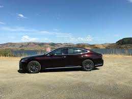 lexus sedan 2018 2018 lexus ls lexus takes boring out of the luxury sedan first