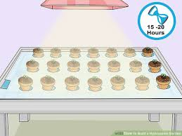 build a how to build a hydroponic garden with pictures wikihow