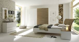 meuble design chambre chambre adulte complète design blanc laqué miel cordula chambre