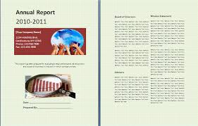 annual report template word annual report template formsword word templates sle forms
