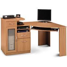 Bush Furniture Vantage Corner Desk Most Functional Desk 199 Printer Shelf File Drawer Computer