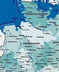 geographical map of germany map germany major tourist attractions maps