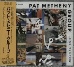 pat metheny letter from home japanese cd album cdlp 600489