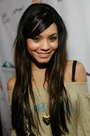 long layered with side swept bangs asian how to cut style side