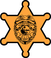 sheriff printables clipart finders