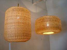 fair trade artisan hand woven wicker lamps and furniture from