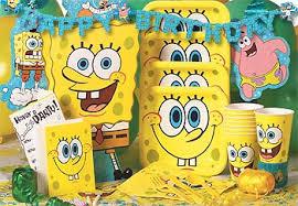 ultimate spongebob birthday party idea