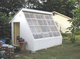 Backyard Greenhouse Winter Storing Excess Daytime Solar Energy To Heat Greenhouse At Night