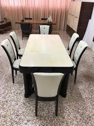 Black Lacquer Dining Room Chairs Lacquer Dining Tables Italian Parchment Black Lacquer Dining