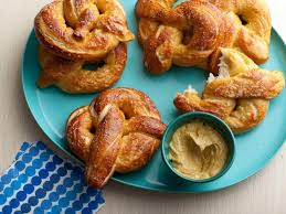 homemade soft pretzels recipe alton brown food network