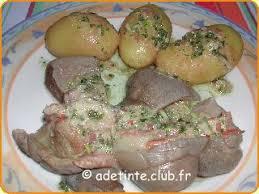 cuisiner une tete de veau tête de veau vinaigrette une recette de cuisine avec adt recettes