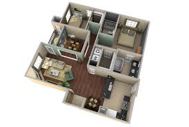 Master Bedroom Floor Plan by 3d Apartment Floor Plan Design Extraordinary 8 Home Design