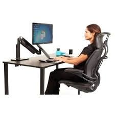 dual monitor stand up desk dual monitor standing desk dual monitor stand up desk owiczart