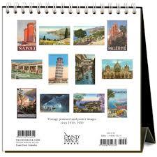 2018 easel desk calendar italy nostalgic 2018 easel calendar 9781680812336 calendars com