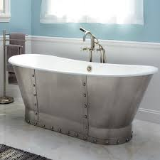 28 steel shower baths steel baths strong and durable steel steel shower baths 67 quot brayden bateau cast iron skirted tub with stainless