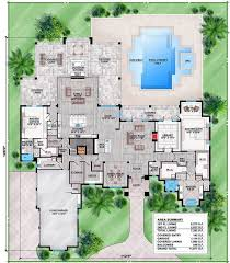 Houses Plans For Sale by Florida House Plans Houseplans Com With Courtyard Pool Hahnow