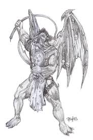type vi demon pencil by obbart on deviantart