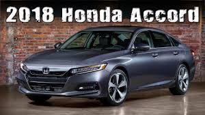 all new 2018 honda accord exterior and interior youtube