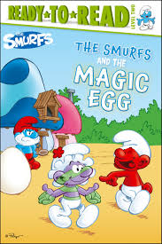 smurfs magic egg book peyo official publisher
