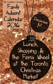 Pearl And Earl Christmas Decorations by Family Advent Calendar Lunch Shopping And The Ferris Wheel At