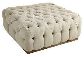 charming square tufted ottoman coffee table square tufted ottoman