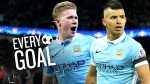 Manchester City Every Manchester City Goal Premier League 2015 16