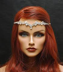 hair accessories for prom free shipping hair jewelry gold hair chain wedding headpiece