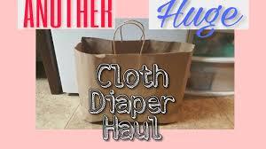 Cloth Diaper Starter Kit Another Huge Cloth Diaper Haul Fluff Mail Best Bottom Grovia