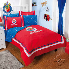 Soccer Comforter Club Chivas Futbol Soccer Fan Boy U0027s Room Bedding Comforter And