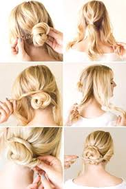 Hochsteckfrisuren Mittellange Haar Einfach by Best 25 Hochzeitsfrisur Kurze Haare Selber Machen Ideas On