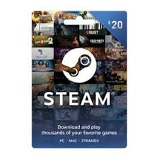 gift cards for steam mall 20 gift card