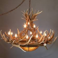 Diy Antler Chandelier 106 Best Antler Chandeliers Custom Antler Lighting Images On