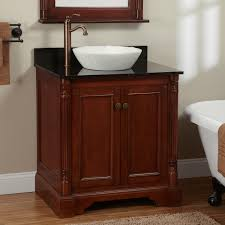 cherry finish freestanding vanity signature hardware