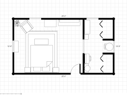 bedroom plans adding a bathroom to a dressing area with room plan floor how