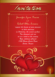Marriage Wedding Cards Inexpensive Heart Vintage Red Wedding Stationery Ewi170 As Low As