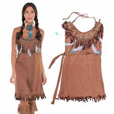 Plus Size Cowgirl Clothes Compare Prices On Womens Pocahontas Costume Online Shopping Buy