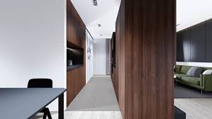 Kitchen Partition Wall Designs Wood Interior Inspiration 3 Homes With Generous Natural Details