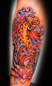 girly koi fish tattoos sat amazingly foi fish with lotus flower