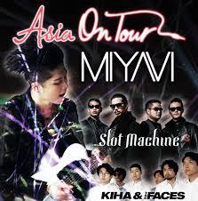 miyavi kiha u0026 the faces and slot machine to embark on north