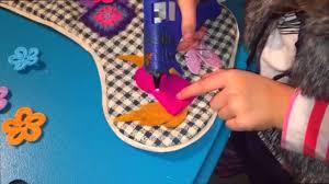 kids craft christmas stocking diy age 5 malia cookies u0026 chaos tv