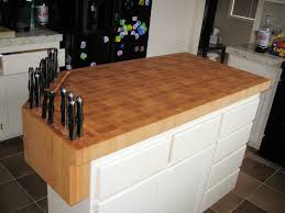 kitchen island with chopping block top lewistown 3 kitchen island set with butcher block top