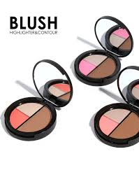 focallure 3 in 1 shimmer bronzer palette makeup contour kit