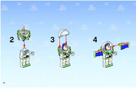 lego woody buzz rescue instructions 7590 toy story