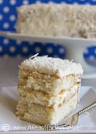 a feast for the eyes southern style coconut cake with a whipped
